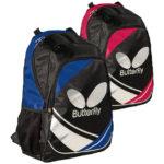 casio ii rucksack - blue and red